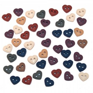 BT090 - Mini Stitched Hearts